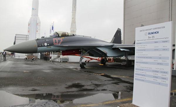 Истребитель Сухой Су-35