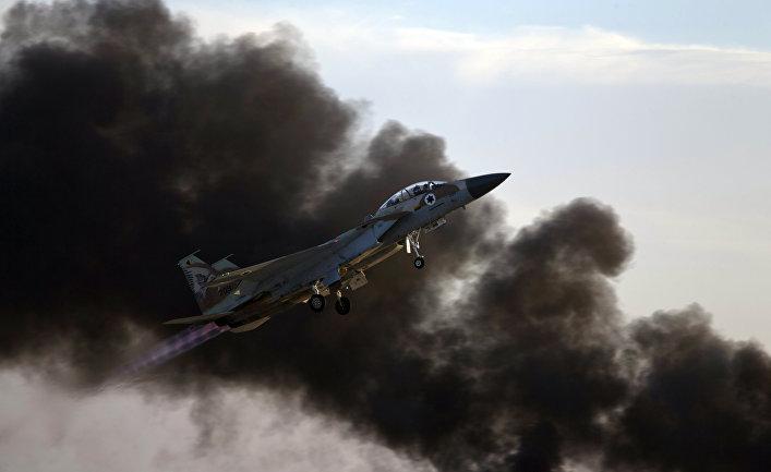 Истребитель ВВС Израиля.