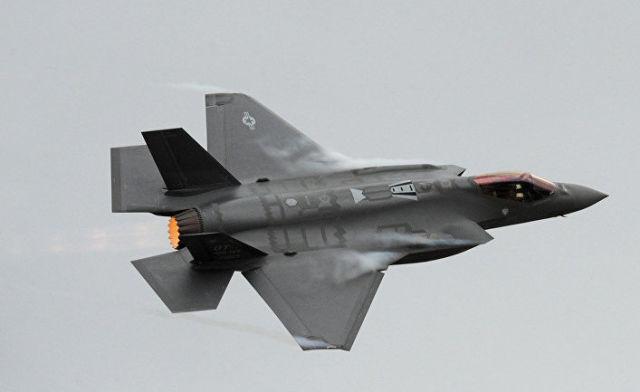 Истребитель-бомбардировщик F-35A Lightning II