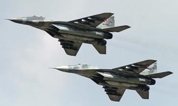 Истребители МиГ-29 позволяют перейти из второго и третьего поколений авиации в новое – четвертое – измерение боевой техники. Фото Артема Катранжи