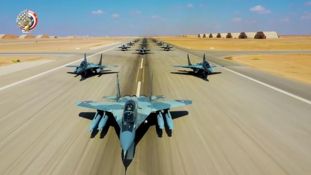Истребители МиГ-29М/М2 ВВС Египта