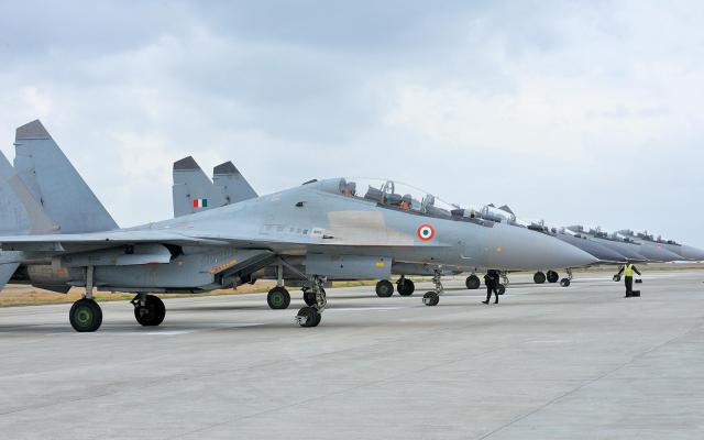 Истребители Су-30МКИ ВВС Индии