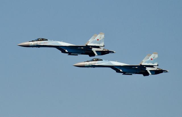 Истребители Су-35С