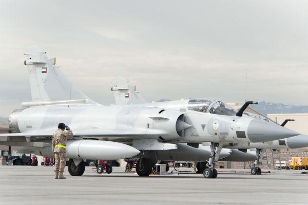 Истребители Dassault Mirage 2000-9RAD