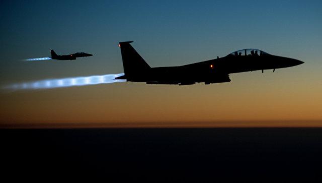 Истребители F-15 ВВС США. Архивное фото.