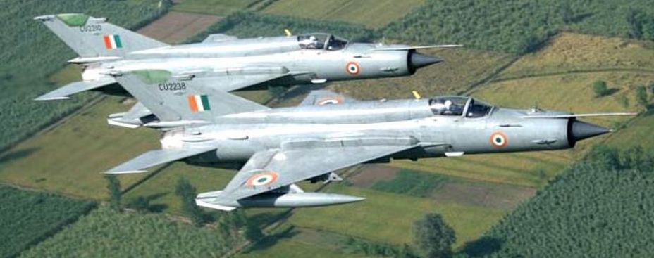 Истребители МиГ-21 ВВС Индии.