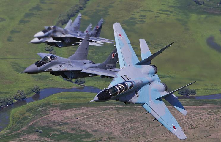 Истребители МиГ-29.