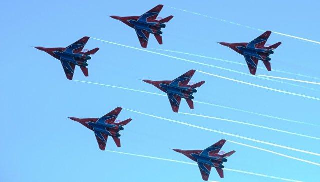 Истребители МиГ-29. Архивное фото.