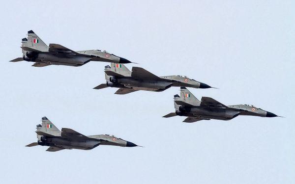 Истребители МиГ-29 ВВС Индии