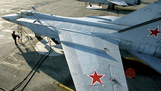 Истребители МиГ-31 на Камчатке. Архивное фото.
