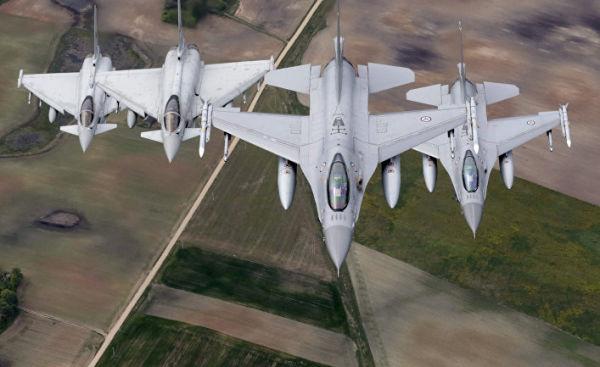"""Истребители НАТО """"Baltic Air Policing"""""""