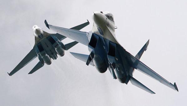 """Су-27 """"Соколы России"""""""