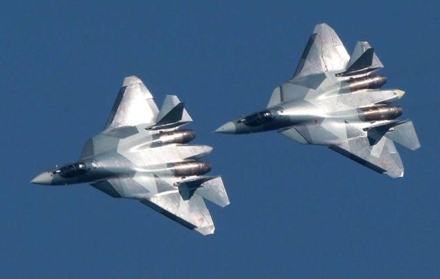 Истребители Су-57