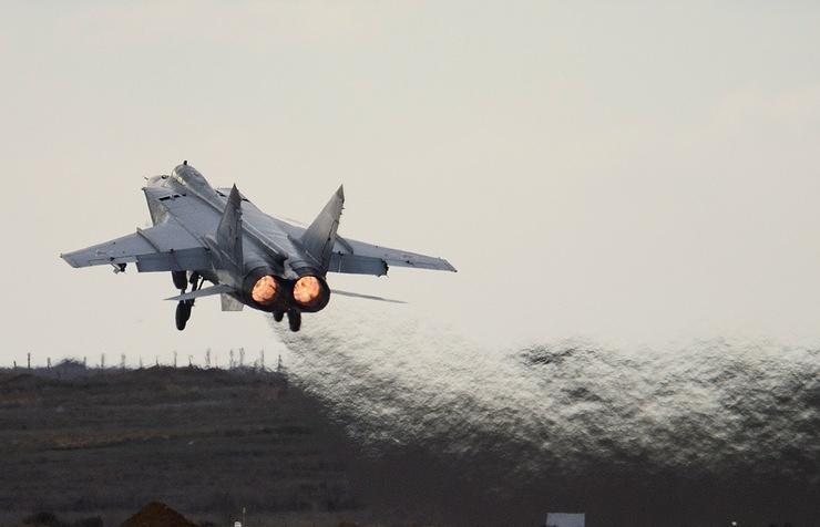 Истребитель-перехватчик МиГ-31.