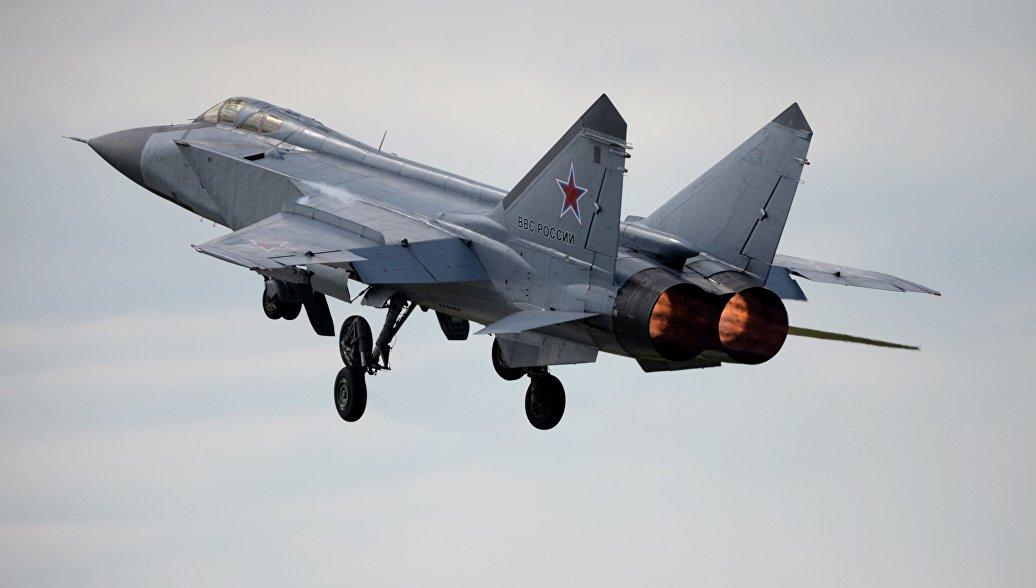 Истребитель-перехватчик МиГ-31. Архивное фото.