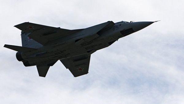 Истребитель-перехватчик МиГ-31БМ. Архивное фото