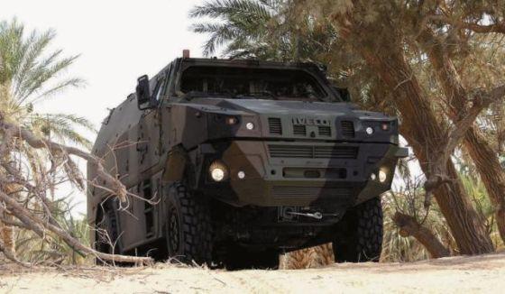 Машина Iveco MPV