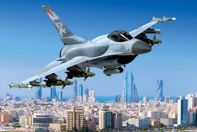 Изображение истребителя Lockheed Martin F-16V Block 70