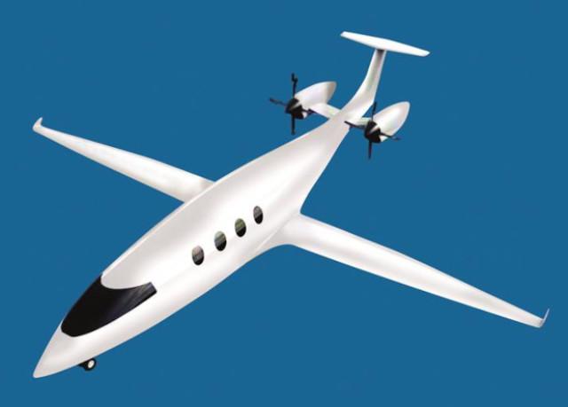 Изображение перепроектированного самолета Alice