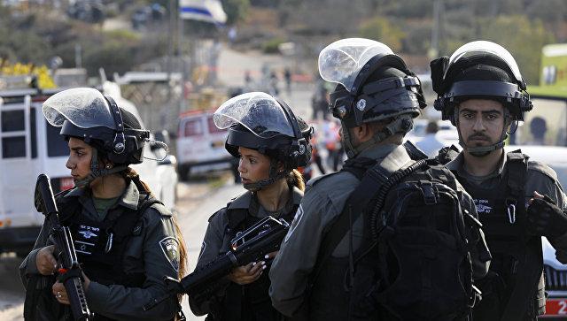 Израильская пограничная полиция. Архивное фото.