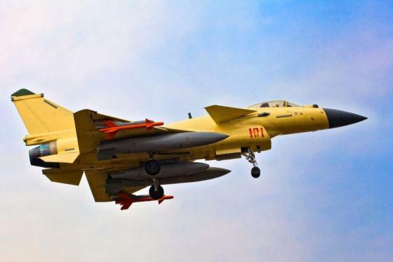 Истребитель J-10B