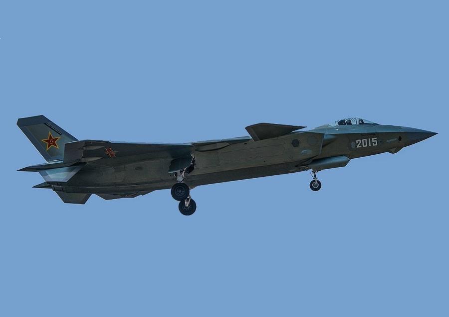 Китайский самолет J-20, декабрь 2014г.