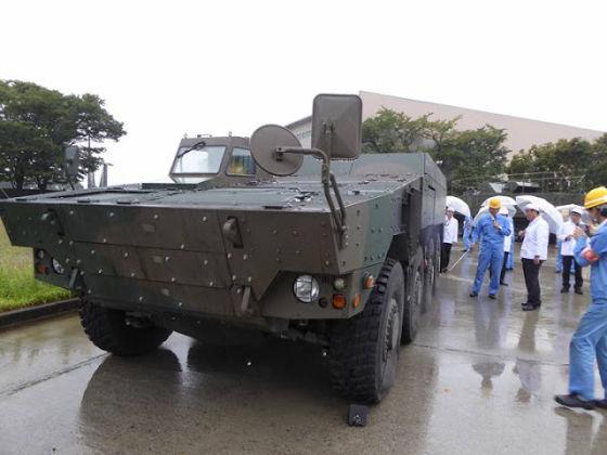 Японская бронированная машина