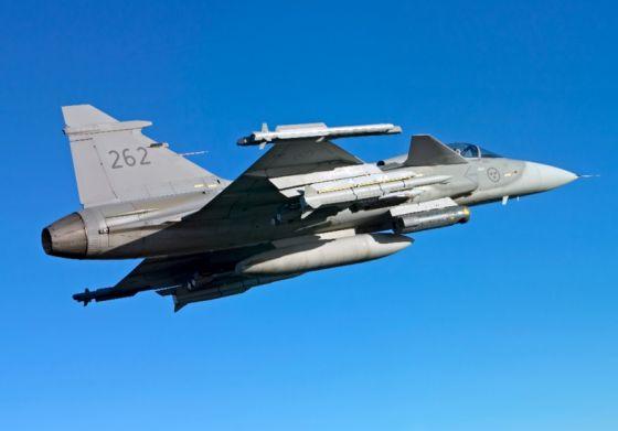 Истребитель Saab JAS-39C