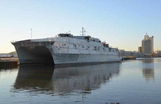 Корабль-катамаран Millinocket (JHSV-3)