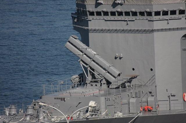 Японский опытовый корабль JS Asuka.