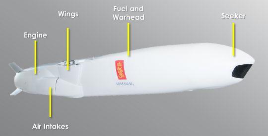 Стелс-крылатая ракетя Joint Strike Missile (JSM) компании Kongsberg.