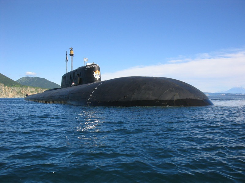 """К-119 атомный подводный крейсер """"ВОРОНЕЖ"""" проекта 949А Антей."""