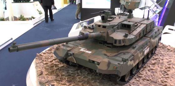 Макет ОБТ K2 Black Panther