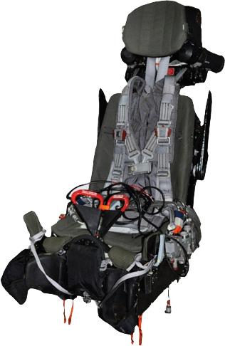 Катапультное кресло К-36Д-5 для самолетов ПАК ФА (Т-50) и Су-35С.