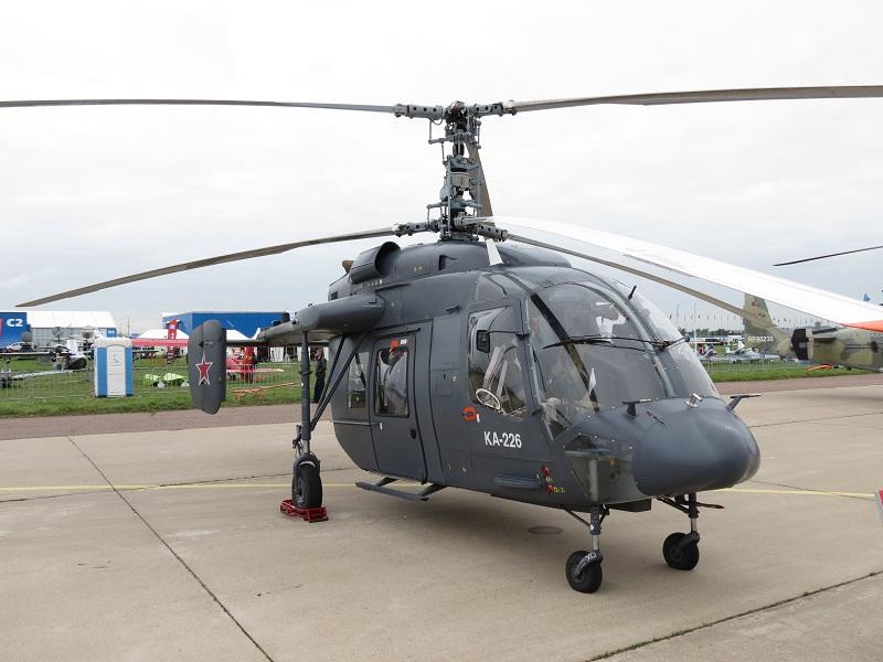 Российский многоцелевой вертолет КА-226.