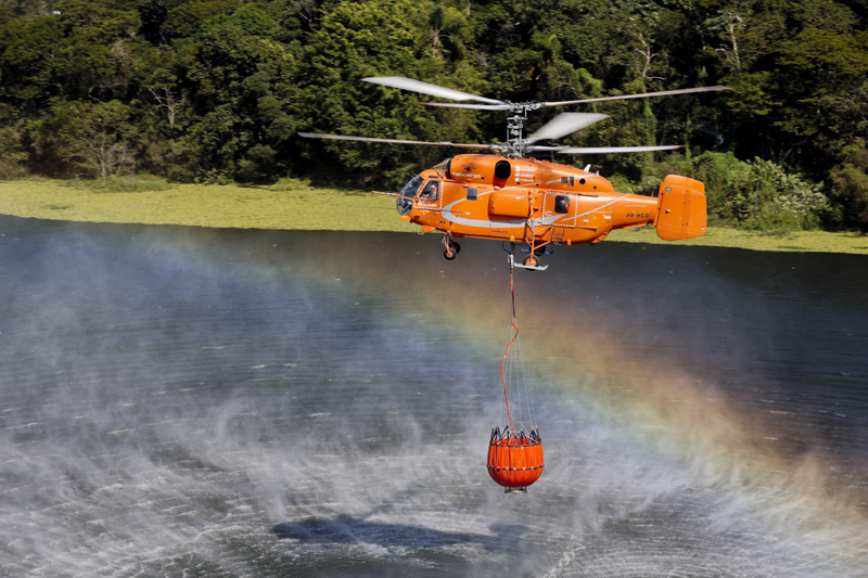 Многоцелевой вертолет Ка-32A11BC.