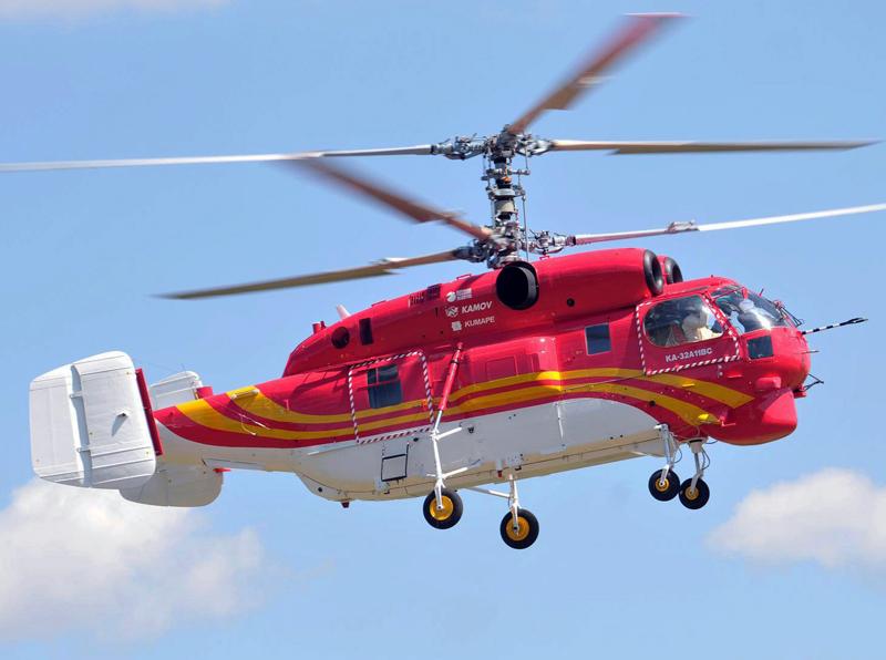 Гражданский многоцелевой вертолет Ка-32А11ВС