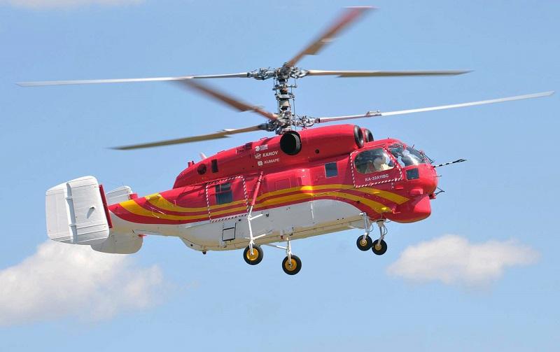 Российский гражданский средний многоцелевой вертолёт Ka-32A11BC.