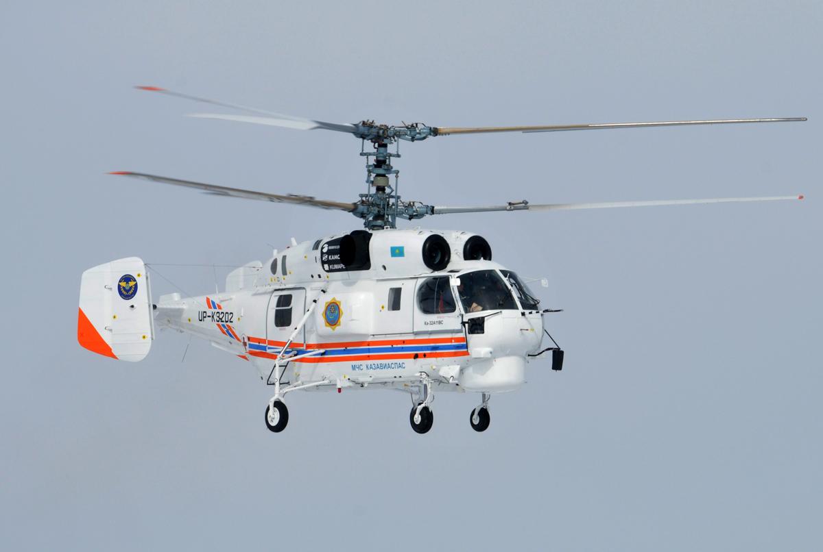Вертолет на соосной (двухвинтовой) схеме Ка-32А11ВС