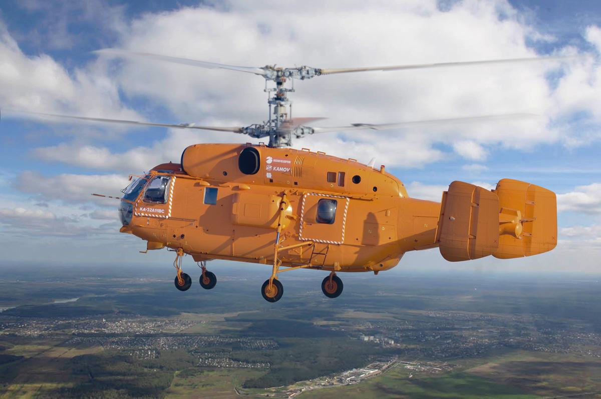 Противопожарный вертолет Ка-32A11BC