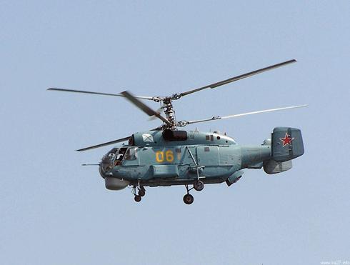 Российский противолодочный вертолёт