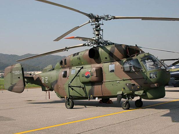 Вертолет Ка-32 ВВС Южной Кореи.