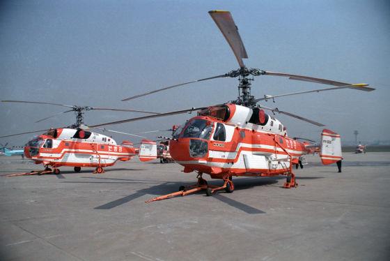 Ка-32 в Южной Корее