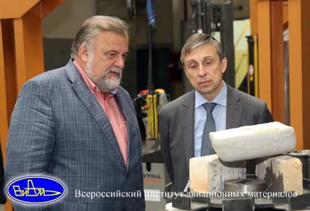 Евгений Каблов и Владимир Миловидов