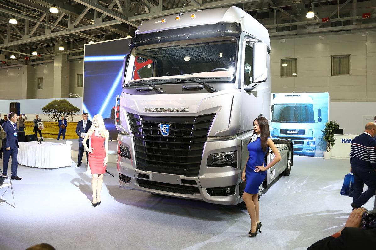 Магистральный тягач КАМАЗ-54901 на выставке коммерческого автотранспорта «Комтранс-2017».