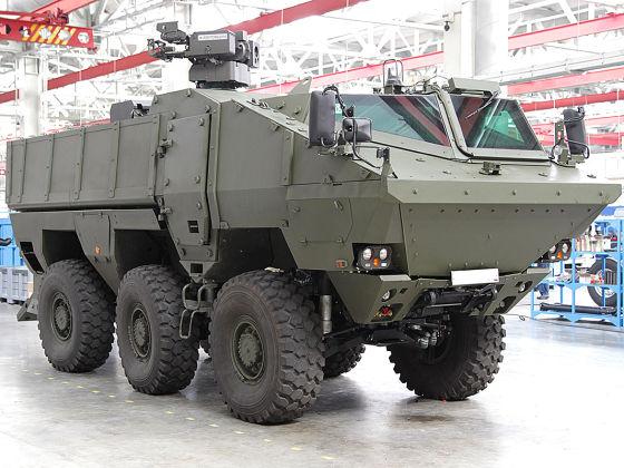 ناقلة الجند الروسية تايفون ,,, متابعات Kamaz-63968_110514.t