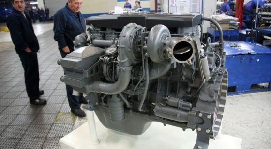 Двигатель КАМАЗ Р6