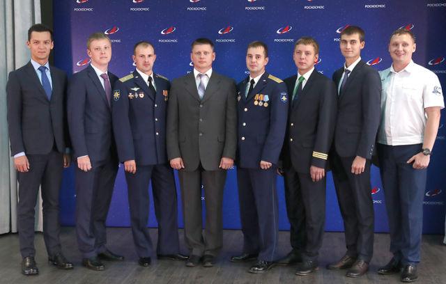 Кандидаты в отряд космонавтов