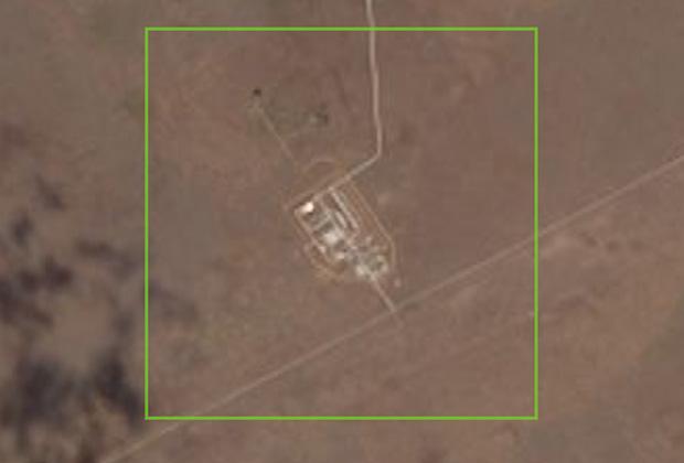 Российский испытательный комплекс, расположенный на полигоне Капустин Яр.
