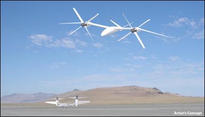 VTOL X-Plane Karem Aircraft